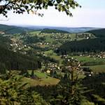 Blick vom Taubenfels auf den OT Rittersgrün Mit freundlicher Genehmigung Fotograf Harald Wunderlich